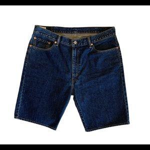 Levi's Mens 505 Jeans Cotton Denim Shorts Size 38